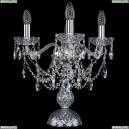 12.25.3.141-37.Cr.Sp Настольная лампа хрустальная Bohemia Art Classic (Арт Классик), 11.25