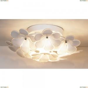LSA-5107-03 Люстра потолочная Lussole Asinara, 3 лампы, белый