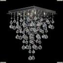 Tesoro H 1.4.40.204 N Каскадная хрустальная люстра Dio D`arte (Дио Дарте), Asfour, Tesoro Nickel