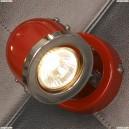 LSN-3101-01 Спот Lussole Tivoli, 1 плафон, хром с красным