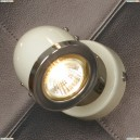 LSN-3111-01 Спот Lussole Tivoli, 1 плафон, хром с белым