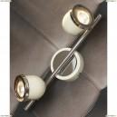 LSN-3111-02 Спот Lussole Tivoli, 2 плафона, хром с белым