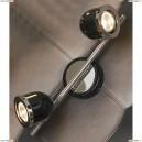 LSN-3121-02 Спот Lussole Tivoli, 2 плафона, хром с черным