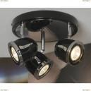 LSN-3127-03 Люстра потолочная Lussole Tivoli, 3 плафона, хром с черным