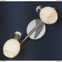 LSX-5001-02 Спот Lussole Parma, 2 плафона, хром с белым