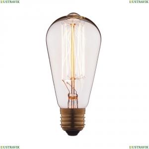 1007 Лампа накаливания E27 40W прозрачная LOFT IT (Лофт ИТ)