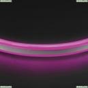 430108 1м. Неоновая лента фиолетового цвета 9,6W, 220V, 120LED/m, IP65 Neoled Lightstar (Лайтстар), Neoled