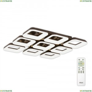 CL225295R Потолочная светодиодная люстра Citilux (Ситилюкс), Паркер Кофе