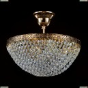 D783-PT30-6-G Хрустальная потолочная люстра с отражателем Maytoni (Майтони) Diamant-crystal-Fabric