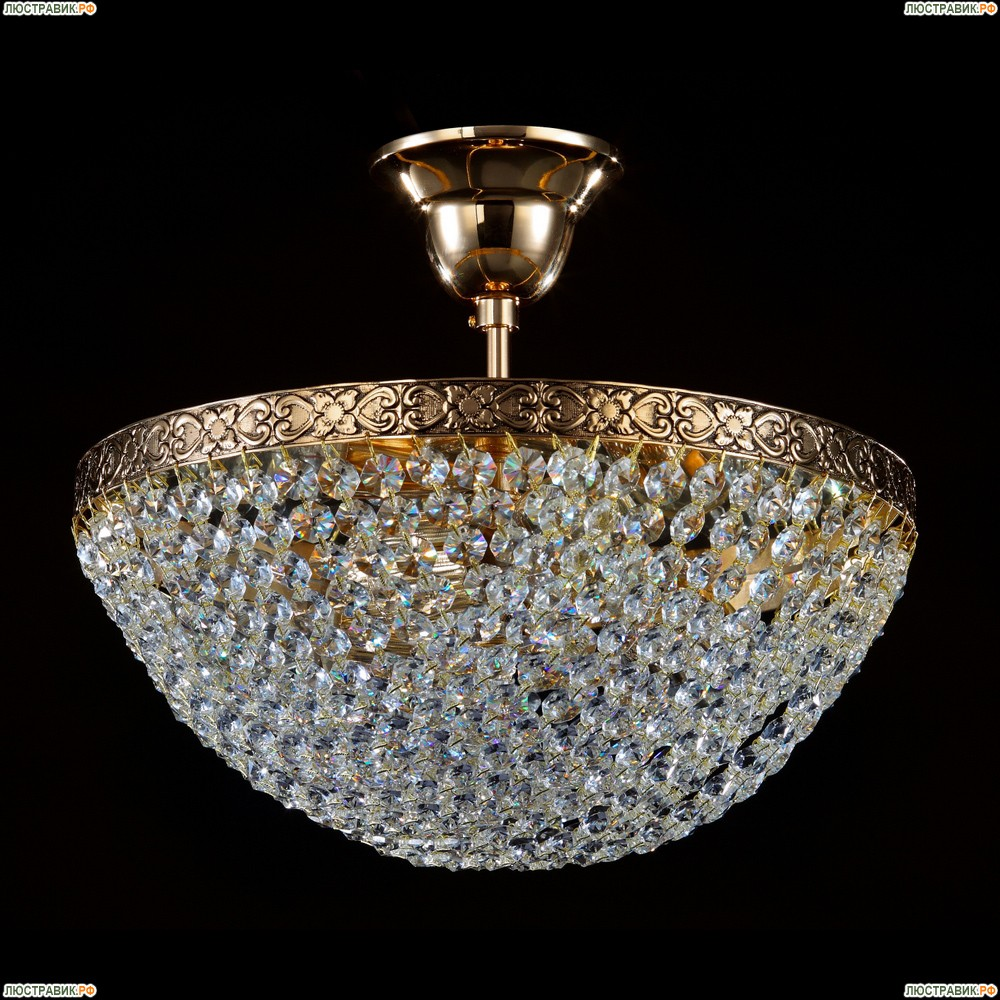 D783-PT30-6-G Хрустальная потолочная люстра с отражателем Maytoni Sfera Moderno
