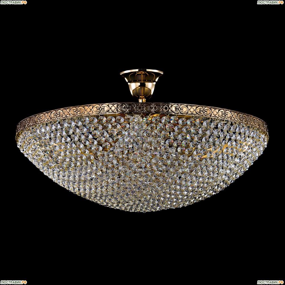D783-PT50-3-G Хрустальная потолочная люстра с отражателем Maytoni Sfera Moderno