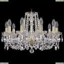 1402/10/195/G Хрустальная подвесная люстра Bohemia Ivele Crystal (Богемия)