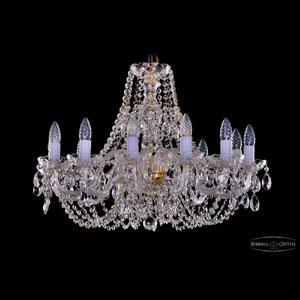 Хрустальная подвесная люстра IVELE Bohemia Crystal (Чехия) 1406.12.240