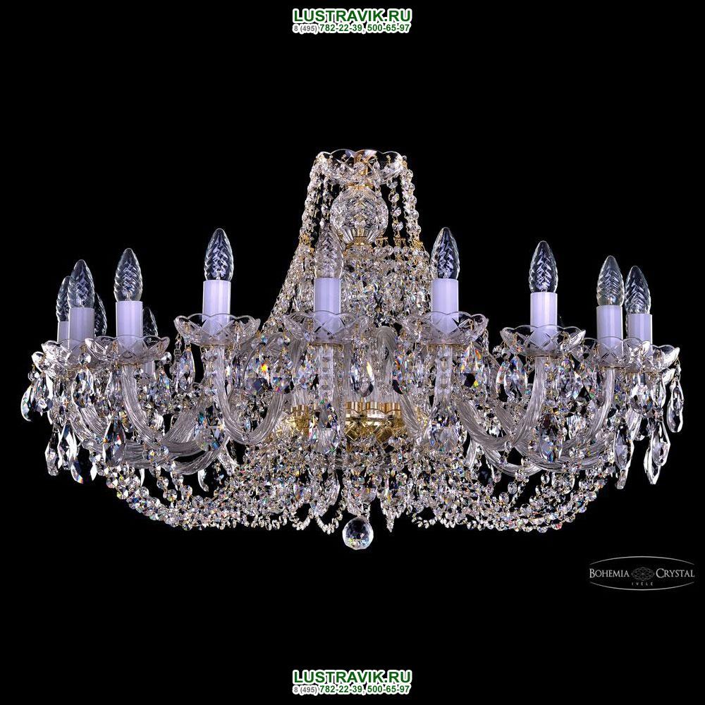 Хрустальная подвесная люстра IVELE Bohemia Crystal (Чехия) 1406.18.300