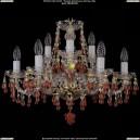 1410/6+3/195/G/V7010 Хрустальная подвесная люстра Bohemia Ivele Crystal (Богемия)