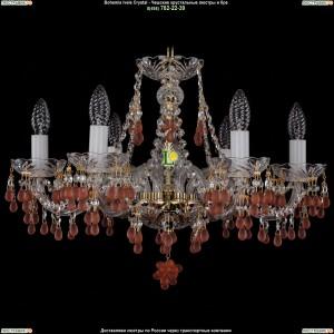 1410/6/195/G/7010 Хрустальная подвесная люстра Bohemia Ivele Crystal (Богемия)