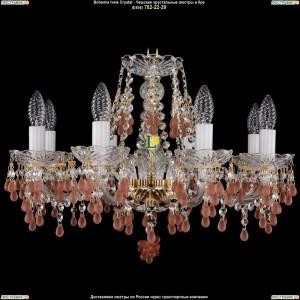 1410/8/195/G/7010 Хрустальная подвесная люстра Bohemia Ivele Crystal (Богемия)