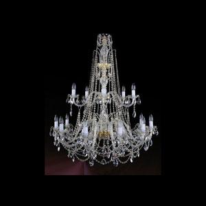 Хрустальная подвесная люстра IVELE Bohemia Crystal (Чехия) 1411.12+6.400.115