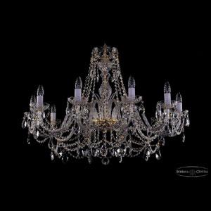 Хрустальная подвесная люстра IVELE Bohemia Crystal (Чехия) 1411.10.360.66