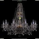 1411/10/360-87/G Хрустальная подвесная люстра Bohemia Ivele Crystal (Богемия)