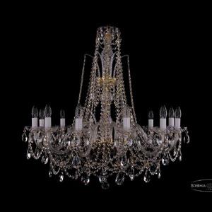 Хрустальная подвесная люстра IVELE Bohemia Crystal (Чехия) 1411.12.300.87