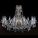 1411/12/360/72 Хрустальная подвесная люстра Bohemia Ivele Crystal (Богемия)