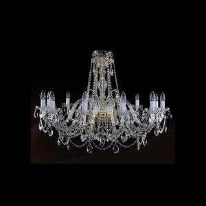 Хрустальная подвесная люстра IVELE Bohemia Crystal (Чехия) 1411.12.360.72