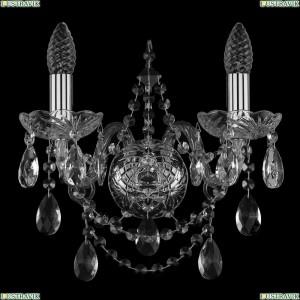 1411/2/Ni Хрустальная бра Bohemia Ivele Crystal (Богемия)