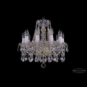 Хрустальная подвесная люстра IVELE Bohemia Crystal (Чехия) 1413.10.141