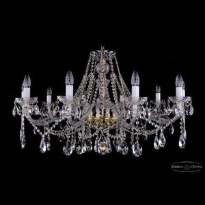 Хрустальная подвесная люстра IVELE Bohemia Crystal (Чехия) 1413.10.360