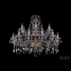 Хрустальная подвесная люстра IVELE Bohemia Crystal (Чехия) 1413.12+6.360.68