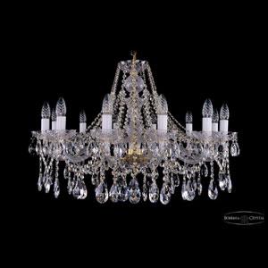 Хрустальная подвесная люстра IVELE Bohemia Crystal (Чехия) 1413.12.300