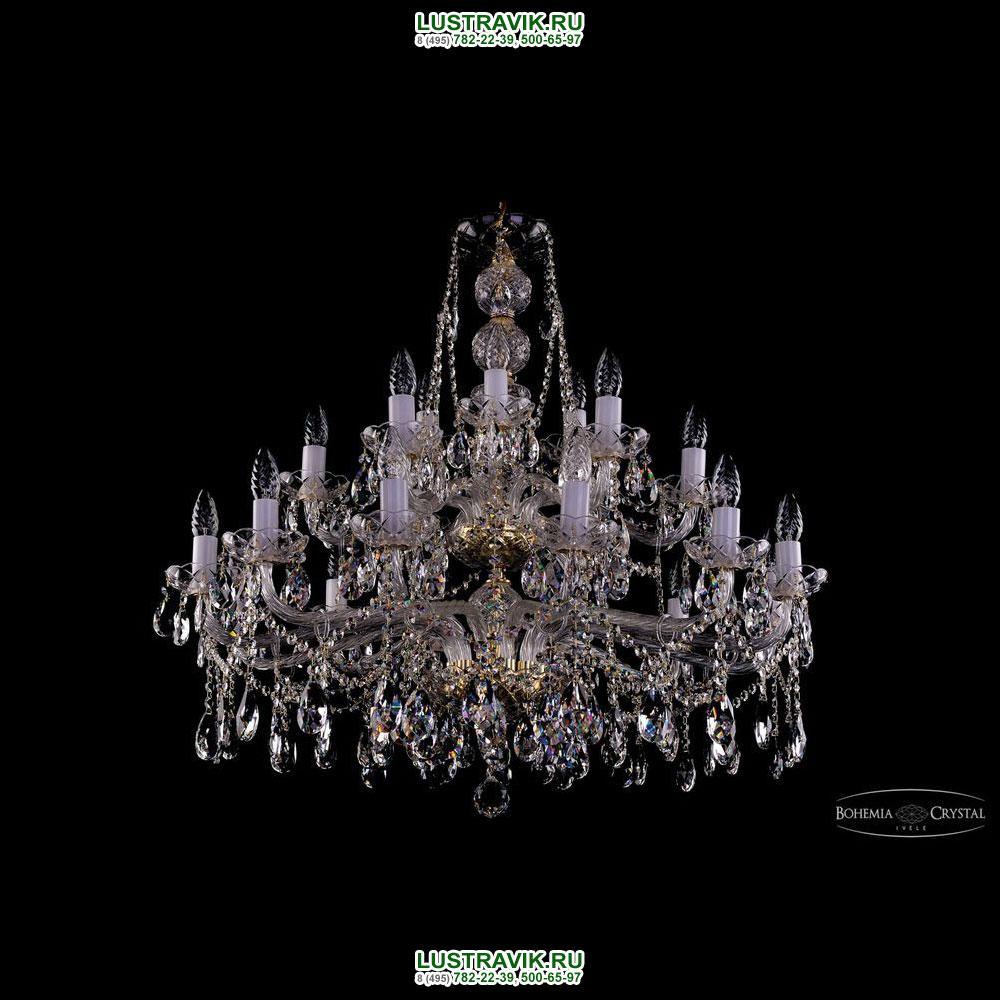 Хрустальная подвесная люстра IVELE Bohemia Crystal (Чехия) 1413.21.360.77