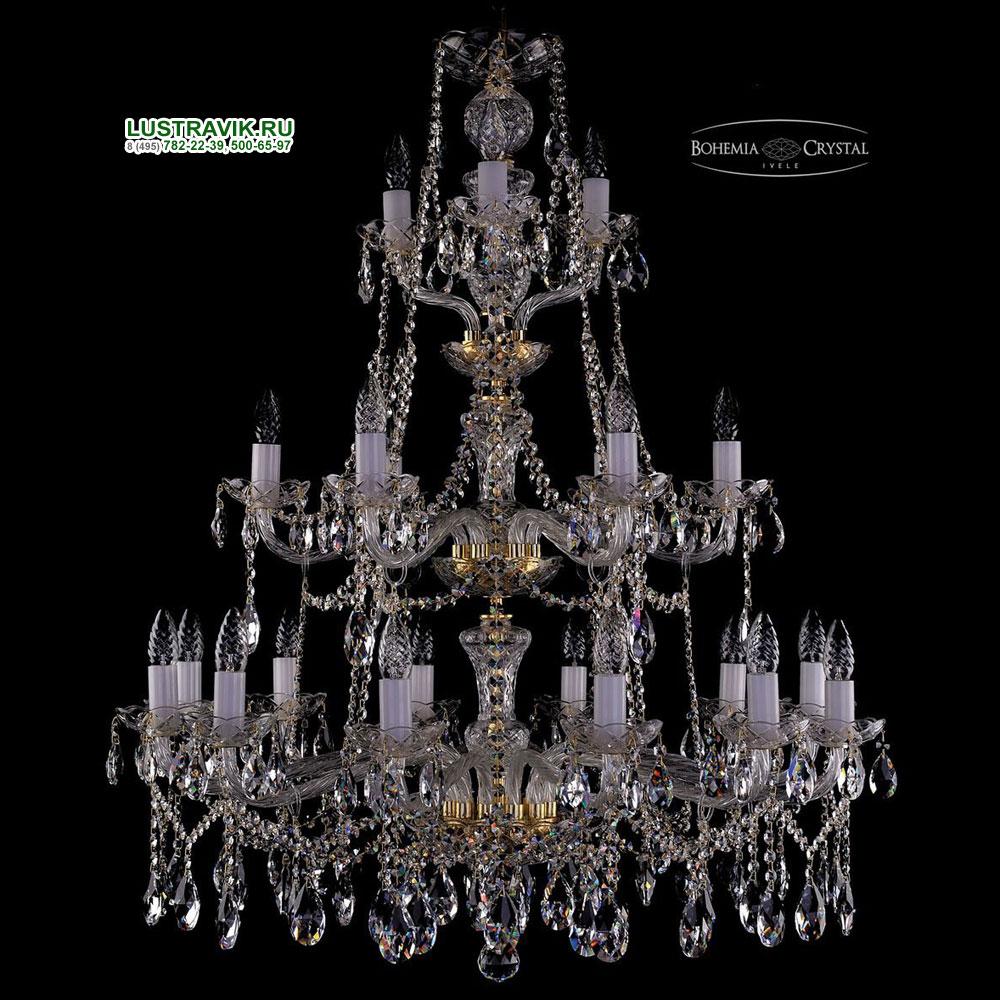 Хрустальная подвесная люстра IVELE Bohemia Crystal (Чехия) 1413.21.360.105