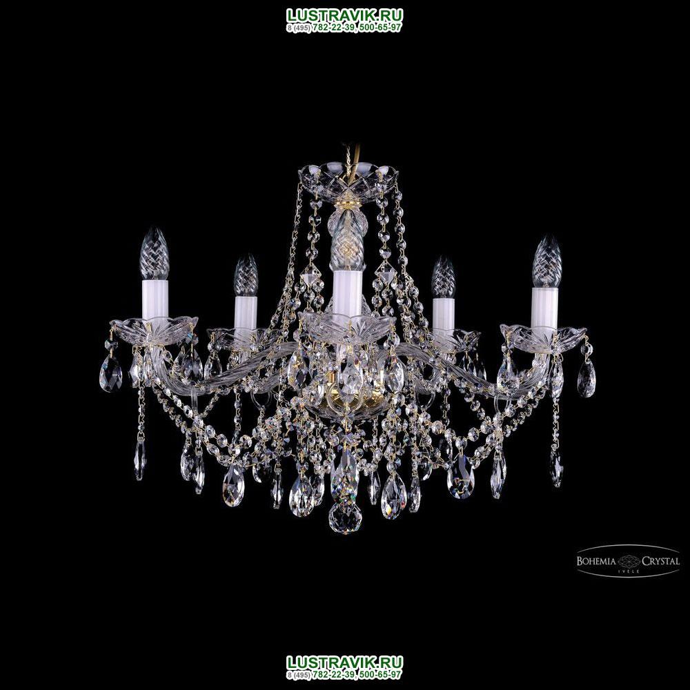 Хрустальная подвесная люстра IVELE Bohemia Crystal (Чехия) 1413.5.200
