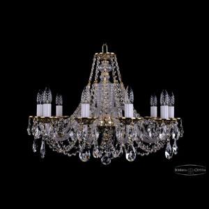 Хрустальная подвесная люстра IVELE Bohemia Crystal (Чехия) 1604.10.240