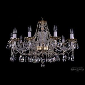Хрустальная подвесная люстра IVELE Bohemia Crystal (Чехия) 1613.10.300