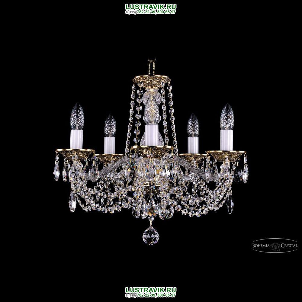 Хрустальная подвесная люстра IVELE Bohemia Crystal (Чехия) 1614.5.165
