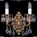 1700/2/B/FP Бра с элементами художественного литья и хрусталем Bohemia Ivele Crystal (Богемия)