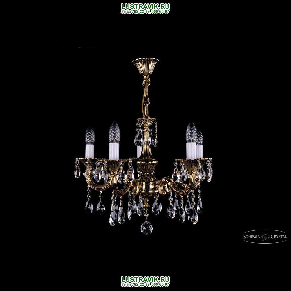 Хрустальная подвесная люстра IVELE Bohemia Crystal (Чехия) 1701.5.A.GB