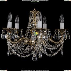 1701/5/C/GB Подвесная люстра Bohemia Ivele Crystal (Богемия)