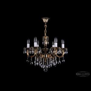 Хрустальная подвесная люстра IVELE Bohemia Crystal (Чехия) 1701.6.B.GB