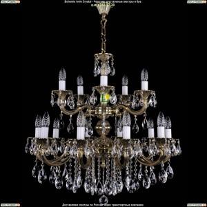 1702/10+5/B/GB Подвесная люстра Bohemia Ivele Crystal (Богемия)