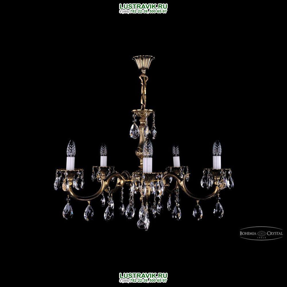 Хрустальная подвесная люстра IVELE Bohemia Crystal (Чехия) 1702.5.A.GB