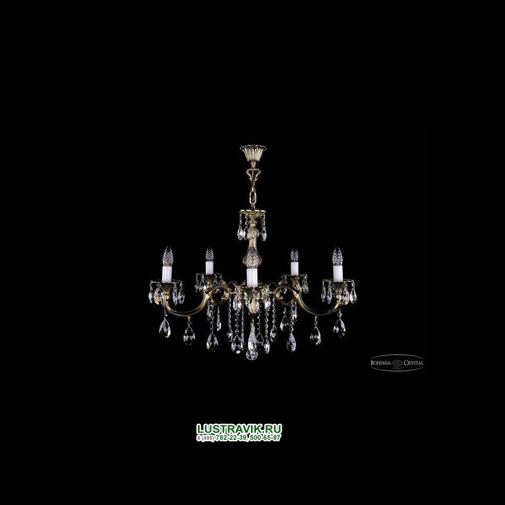 Хрустальная подвесная люстра IVELE Bohemia Crystal (Чехия) 1702.5.b