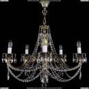 1702/5/C/GB Хрустальная подвесная люстра Bohemia Ivele Crystal (Богемия)
