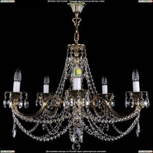 1702/5/C/GB Подвесная люстра Bohemia Ivele Crystal (Богемия)