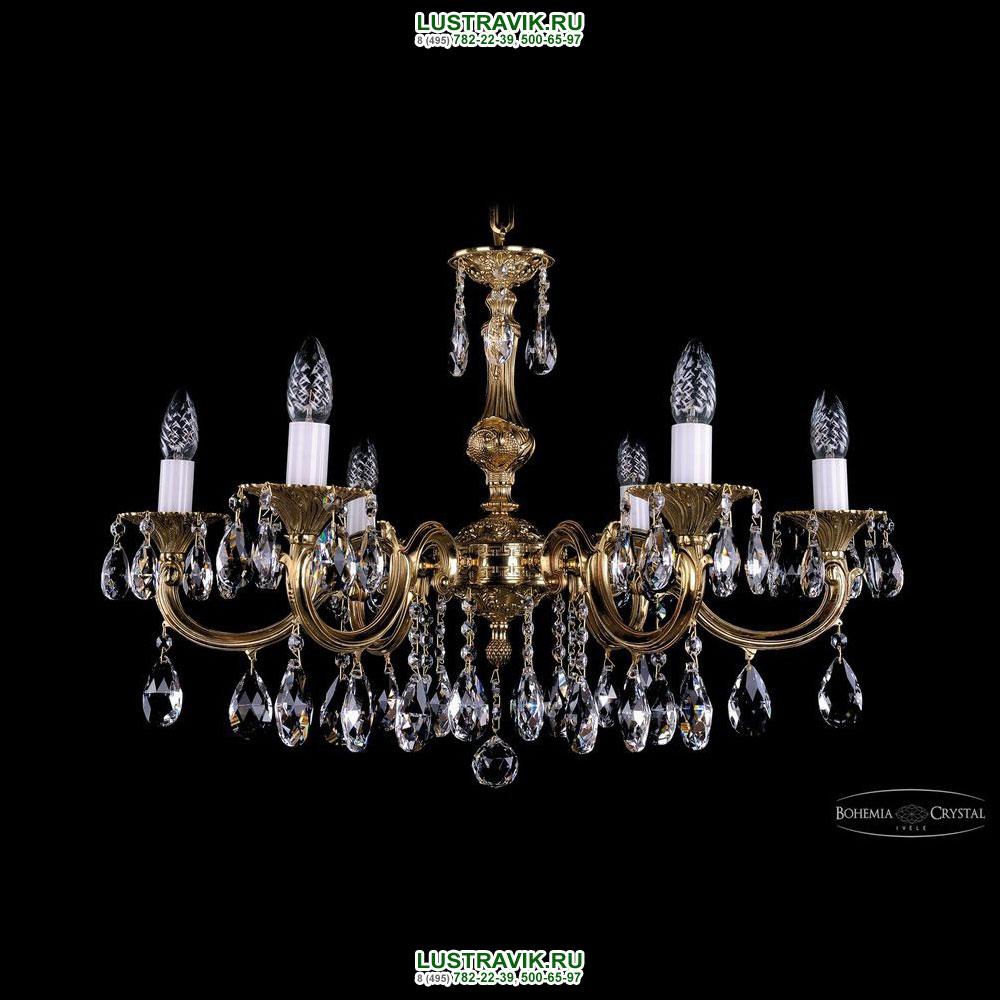 Хрустальная подвесная люстра IVELE Bohemia Crystal (Чехия) 1702.6.A