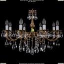 1702/8/B/FP Хрустальная подвесная люстра Bohemia Ivele Crystal (Богемия)