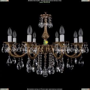 1702/8/B/FP Подвесная люстра Bohemia Ivele Crystal (Богемия)